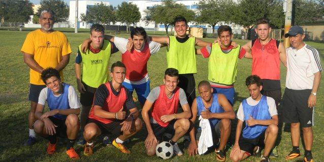 Los Jóvenes seleccionados al 'Proyecto Uno''. serán presentados en una practica ante veedores de las Universidades y agentes FIFA.  (Foto: Edwin Piscoya/ Proyecto Uno y 'Los Calidosos')