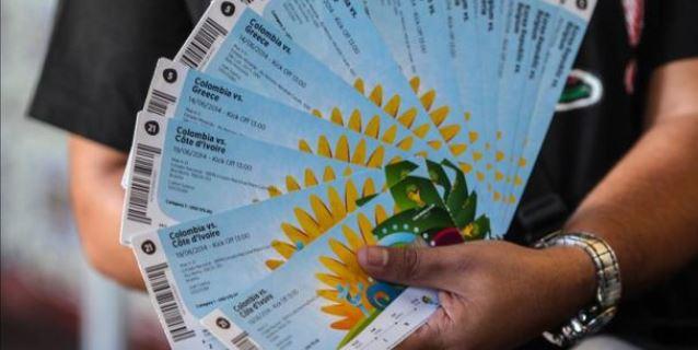 Imagen de tiquetes para Brasil 2014. (EFE/Archivo)